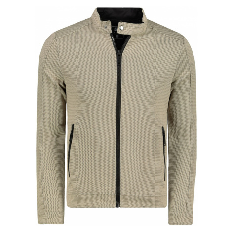 Ombre Clothing Men's zip-up sweatshirt C453