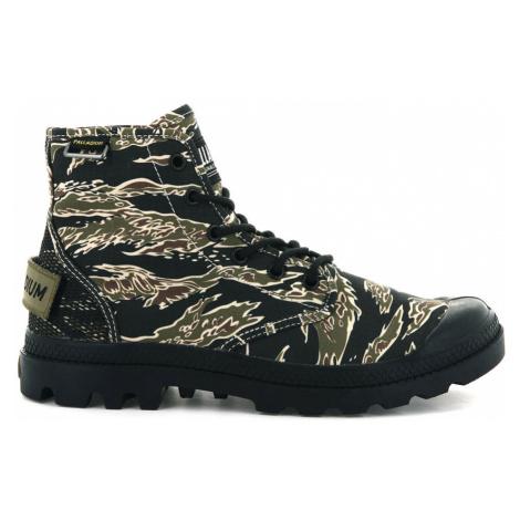 Palladium Boots Pampa Hi Og Camo Black/Camo-10.5 farebné 76657-957-M-10.5