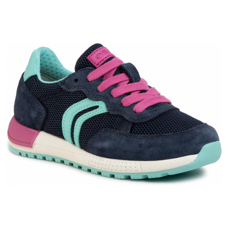 Sneakersy GEOX - J Alblen G. B J02AQB 01422 C4268 M Navy/Fuchsia