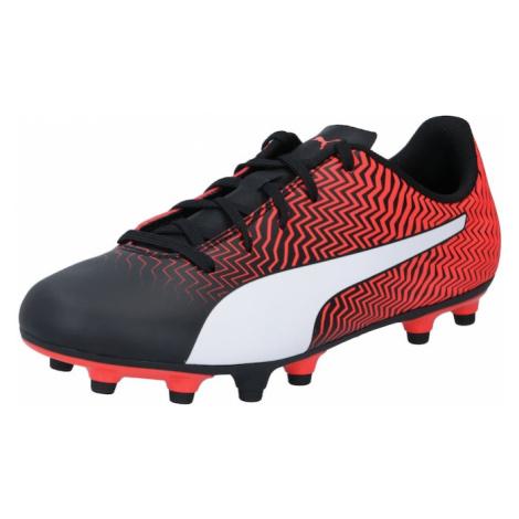 PUMA Športová obuv 'Rapido II'  čierna / červená / biela