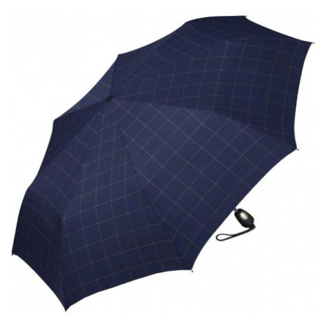Esprit Pánsky skladací dáždnik Gents Mini Tecmatic Check Blue