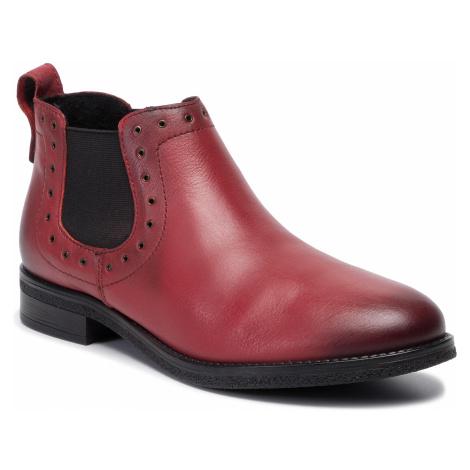 Kotníková obuv s elastickým prvkom LASOCKI - WI23-DALIA-08 Red