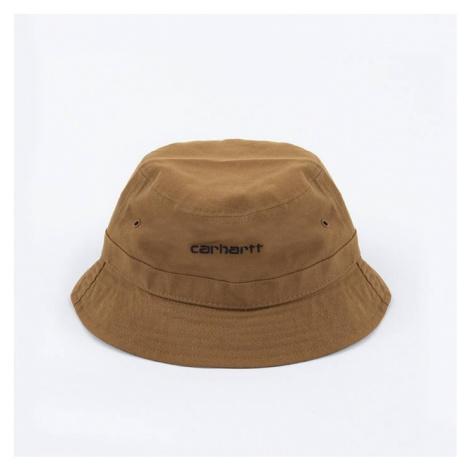 Carhartt WIP Script Bucket Hat I026217 HAMILTON BROWN/BLACK