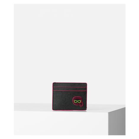 Púzdro Na Platobné Karty Karl Lagerfeld K/Ikonik Neon Cc Holder