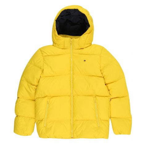 TOMMY HILFIGER Zimná bunda  žltá