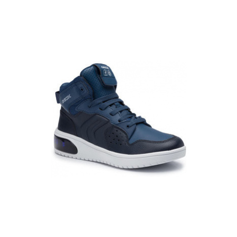 Geox Sneakersy J Xled B. A J947QA 0BCBU C0700 D Tmavomodrá