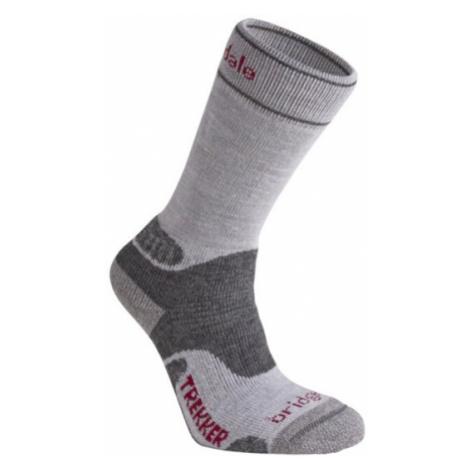 Ponožky Bridgedale Hike Midweight Merino Performance Boot Women's silver/grey/809