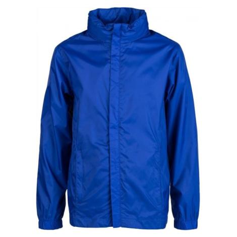 Kensis WINDY JR modrá - Chlapčenská šuštiaková bunda