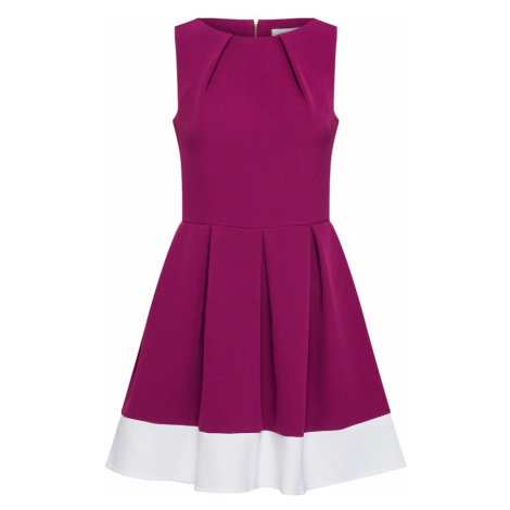 Closet London Kokteilové šaty  farba lesného ovocia