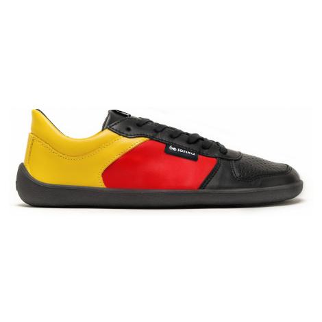 Barefoot tenisky Be Lenka Champ - Patriot - Black, Red & Gold 35