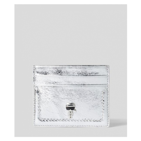 Púzdro Na Platobné Karty Karl Lagerfeld K/Ikonik 3D Pin Card Holder