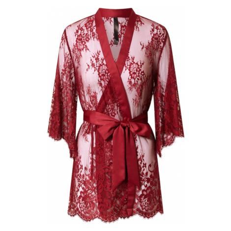 Hunkemöller Kimono 'Isabella'  červená Hunkemoller