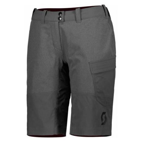 Scott TRAIL FLOW W/PAD W sivá - Dámske šortky