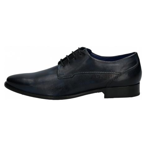 bugatti Šnurovacie topánky 'Arturo'  čierna
