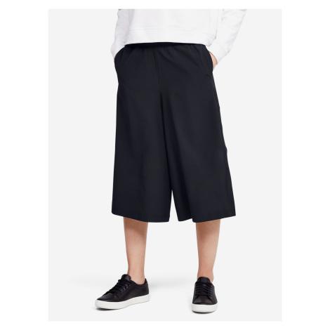 Woven Crop Kalhoty Under Armour Čierna