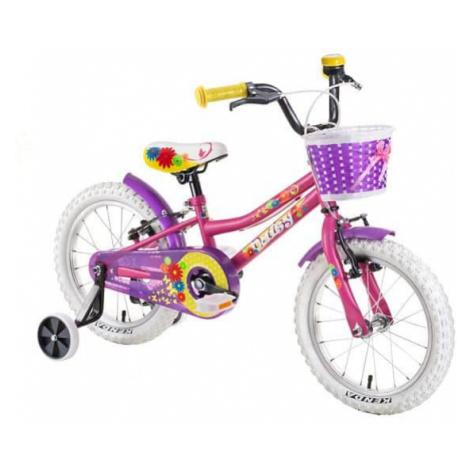 "Detský bicykel DHS Daisy 1604 16"" - model 2019 Farba Purple"