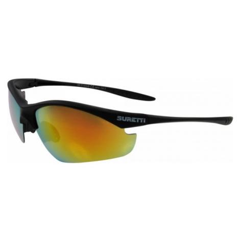 Suretti S14054 čierna - Športové slnečné okuliare
