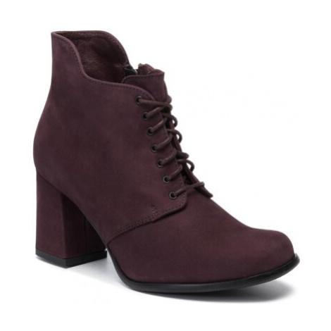 Šnurovacia obuv Lasocki 5037-01 Prírodná koža(useň) - Nubuk