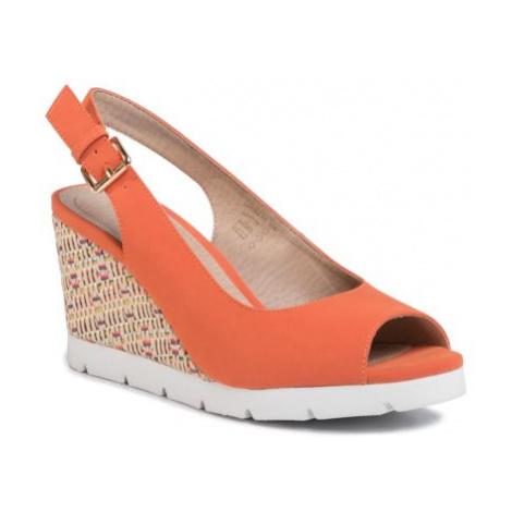 Sandále Clara Barson LS5206-03 koža ekologická