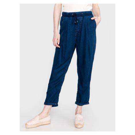 Donna Kalhoty Pepe Jeans Modrá