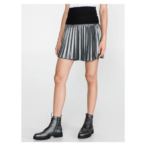 Sukně Versace Jeans Čierna