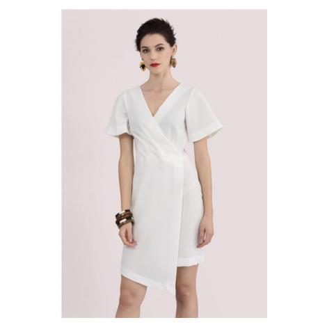 Zavinovacie Asymterický šaty Closet
