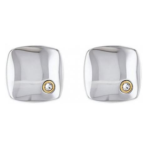 Tommy Hilfiger Štýlové oceľové manžetové gombíky s kryštálom TH2790176