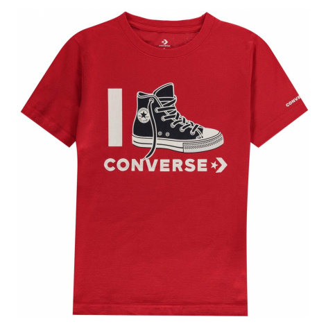 I Love Converse T-Shirt Junior Boys