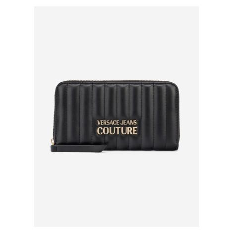 Peněženka Versace Jeans Couture Čierna