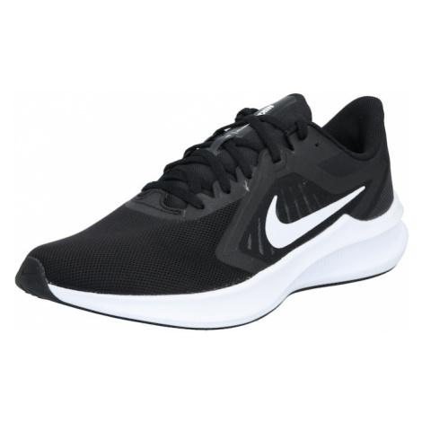 NIKE Bežecká obuv 'Downshifter 10'  biela / čierna