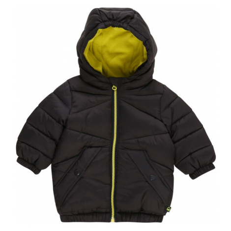 UNITED COLORS OF BENETTON Zimná bunda  čierna / žltá
