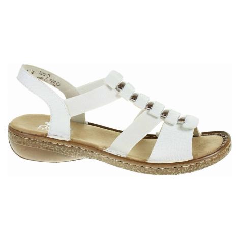 Dámské sandály Rieker 62850-80 weiss 62850-80
