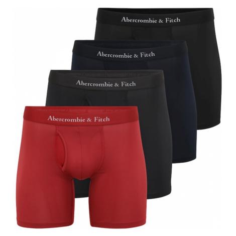 Abercrombie & Fitch Boxerky  čierna / červená