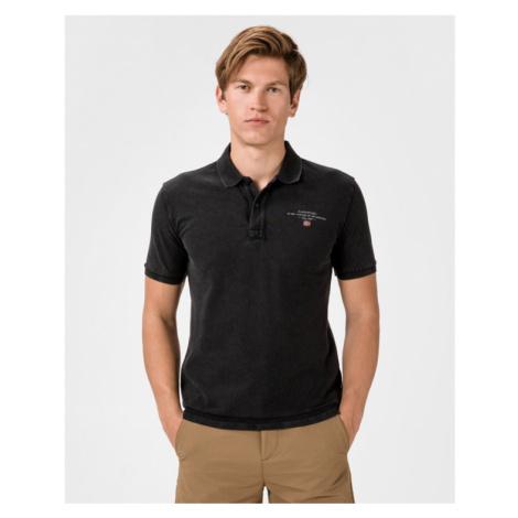 Napapijri Elbas 3 Polo tričko Čierna