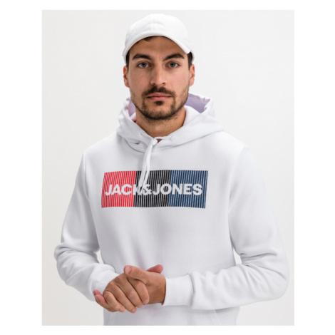 Jack & Jones Corp Mikina Biela