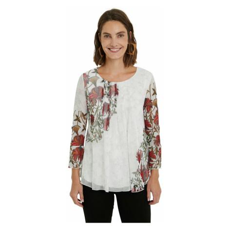 Desigual biele tričko TS Sheila