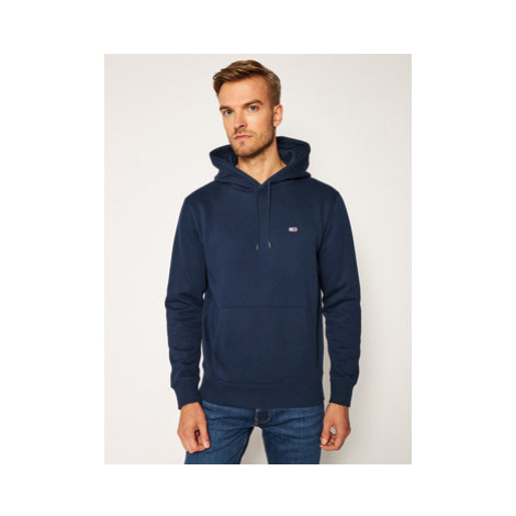 Tommy Jeans Mikina Regular Fleece DM0DM09593 Tmavomodrá Regular Fit Tommy Hilfiger