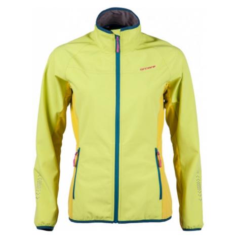 Arcore DARLING žltá - Dámska softshellová bunda