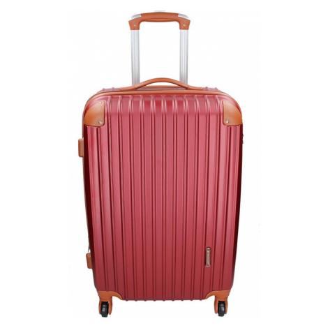 Cestovný kufor Madisson Alena L - vínová