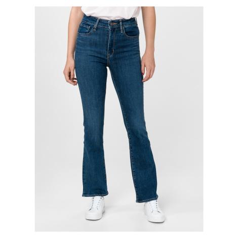 725™ High-Waisted Bootcut Jeans Levi's® Modrá