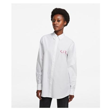 Košeľa Karl Lagerfeld Karl Legend Tunic Shirt