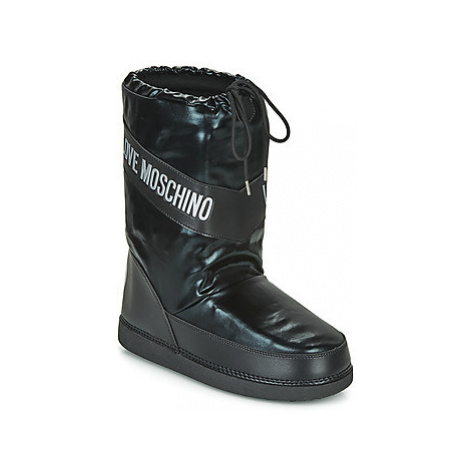 Love Moschino SKI BOOT Čierna