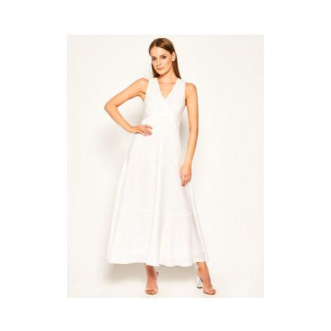 Sportmax Code Každodenné šaty Cannes 72210504 Biela Regular Fit