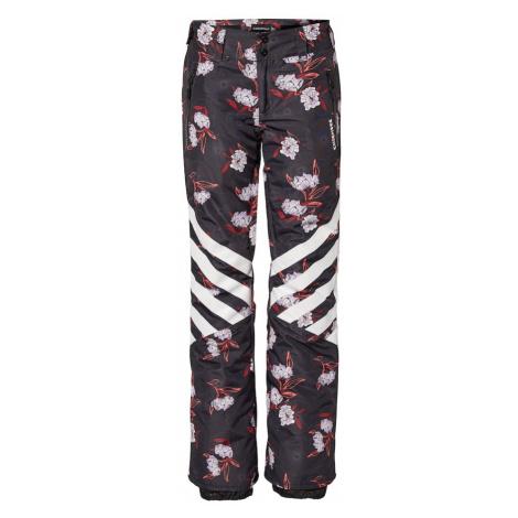 CHIEMSEE Športové nohavice  biela / červená / čierna