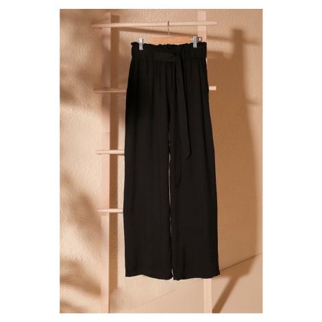Dámske nohavice Trendyol Wide Leg