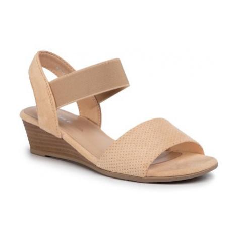 Sandále Clara Barson WS0730-02 Materiał tekstylny