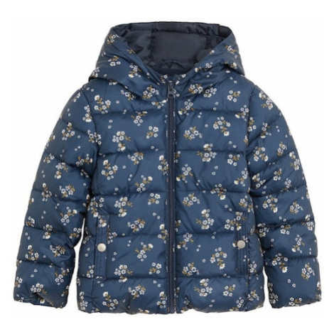 MANGO KIDS Kabát  námornícka modrá