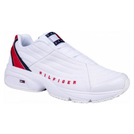 Tommy Hilfiger HERITAGE TOMMY JEANS SNEAKER biela - Dámska obuv na voľný čas