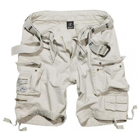 Urban Classics Savage Vintage Cargo Shorts white - Veľkosť:3XL