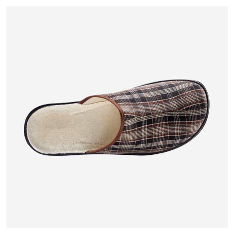 Blancheporte Široké papuče gaštanová